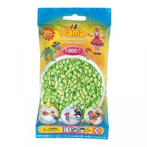 Hama Midi bolsa 1000 perlas verde pastel