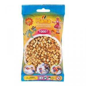 Hama Midi bolsa 1000 perlas oro