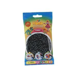 Hama Midi bolsa 1000 perlas gris oscuro