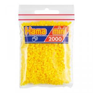 Hama Mini bolsa 2000 perlas amarillo
