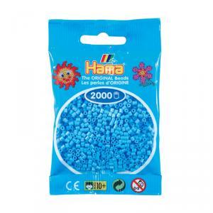 Hama Mini bolsa 2000 perlas azul claro