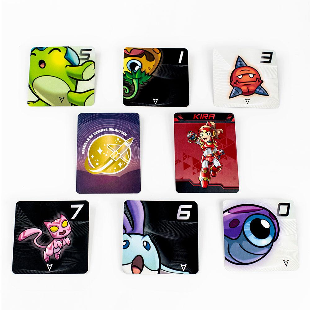 Hibi Hibi Rescue juego de cartas