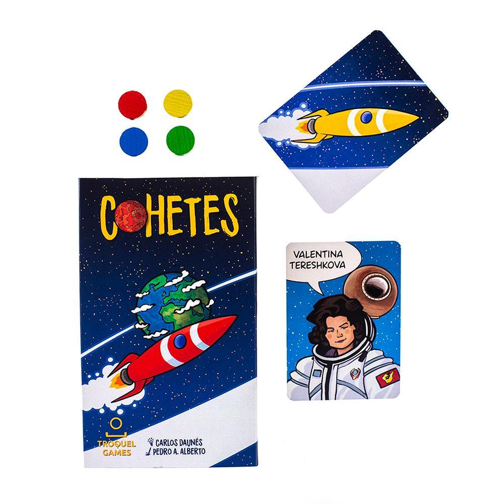Cohetes juego de cartas
