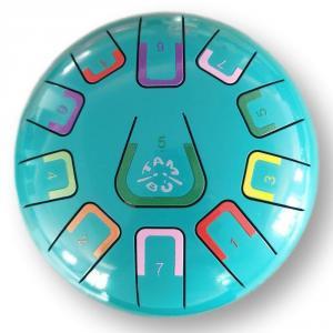 Tambú 8´ 11 notas color turquesa