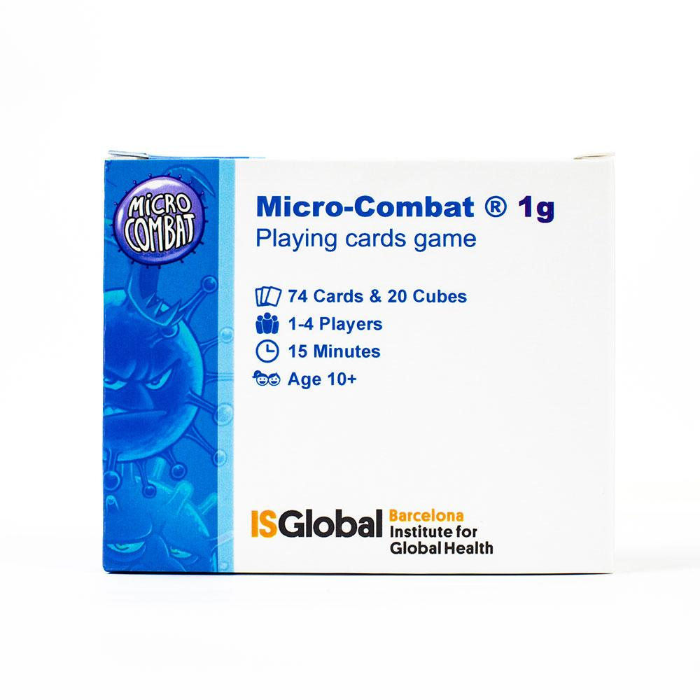 Microcombat juego de cartas