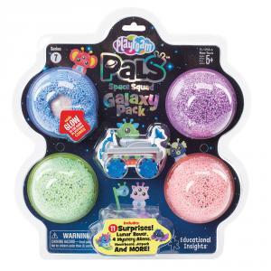 Playfoam Pals Space Squad Galaxy blíster 4 colores