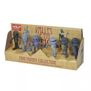 Set 6 mini figuras momia