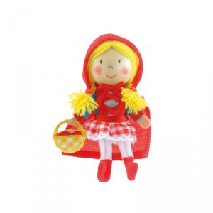 Marioneta dedo Caperucita Roja