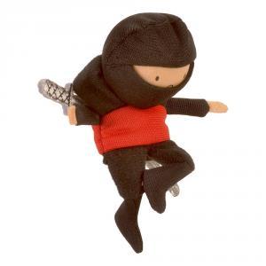 Marioneta dedo ninja rojo
