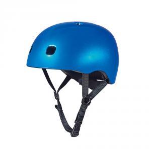 Casco Micro azul talla M