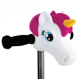 Cabeza unicornio para manillar patinete Micro