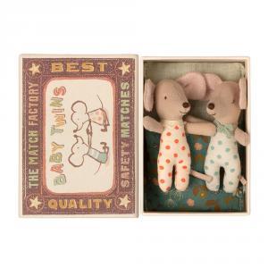 Ratoncitos gemelos 8cm en caja