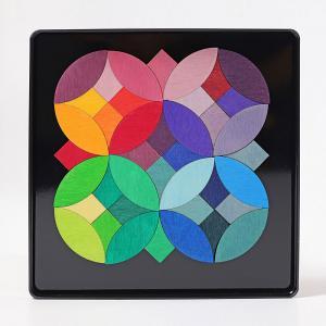 Magnet puzzle circles 40pzas