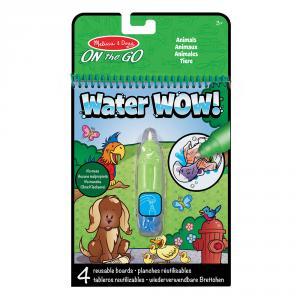 Set bolígrafo de agua con bloc animales Water Wow