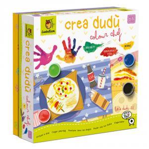 Crea dudú colour chef set pintura dedos