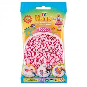 Hama Midi: bolsa 1000 pzas rosa pastel