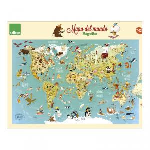 Mapa mundo magnético