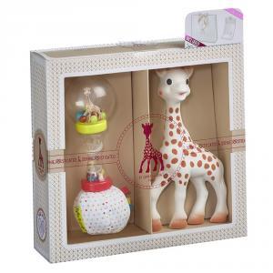 Mi primer set Sophie la Girafe más sonajero maracas