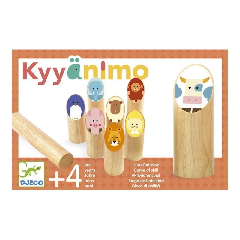 Bolos nórdicos molkky Kyyanimo madera