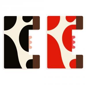 Letra E animal madera