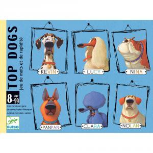 Juego de cartas Top dogs