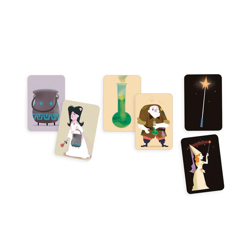 Magic School juego de cartas