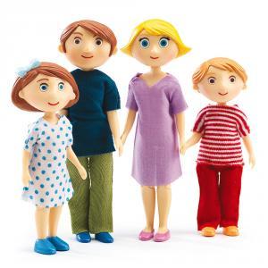 Set familia muñecos Gaspard y Romy