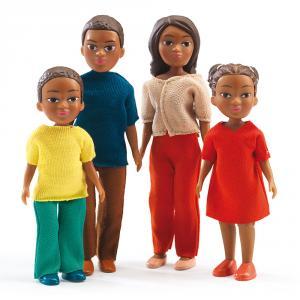 Set familia muñecos Milo y Lila
