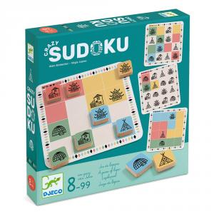 Crazy sudoku juego de lógica