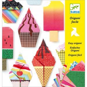 Set origami helados