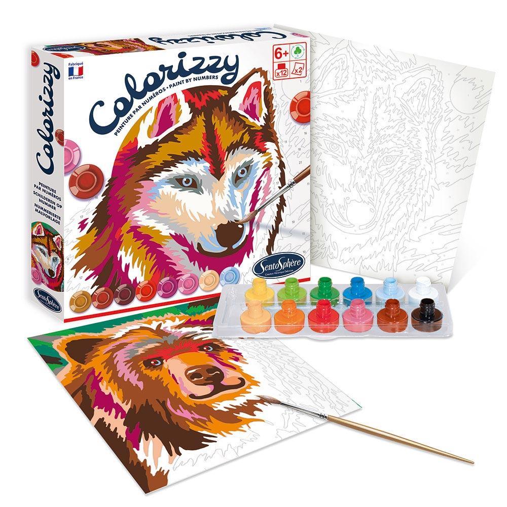Colorizzy animales del bosque pintar por números