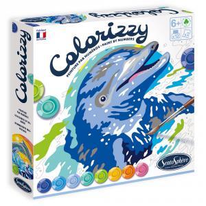 Colorizzy delfines pintar por números