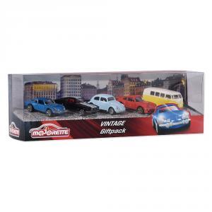 Set 5 coches metal Vintage escala 1:64