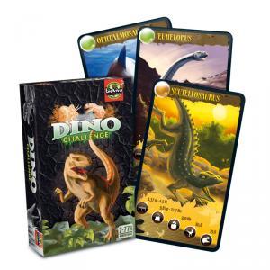 Juego de Cartas Dino Challenge negro