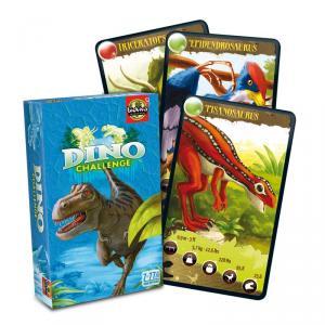 Juego de Cartas Dino Challenge azul