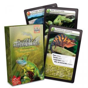 Cartas desafíos Naturaleza Reptiles