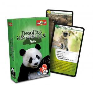 Cartas desafíos Naturaleza Asia