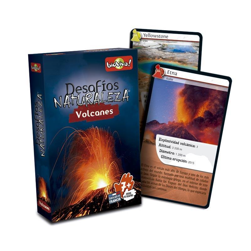 Cartas desafíos Naturaleza Volcanes