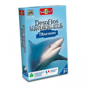 Cartas desafíos Naturaleza Tiburones