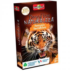 Cartas desafíos naturaleza animales temibles