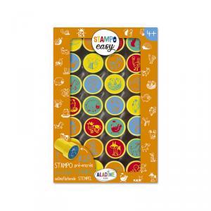 Set 28 sellos Stampo Easy animales granja