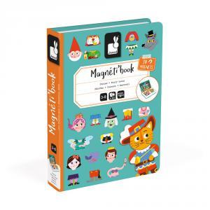 Magnetic book cuentos