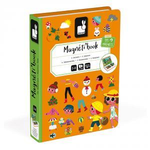 Magnetic book cuatro estaciones