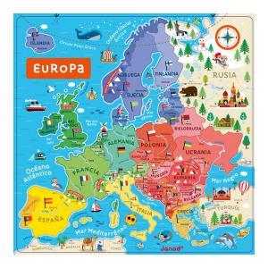 Mapa magnético Europa en español