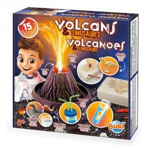 Volcanes y dinosaurios. Kit de experimentos