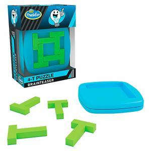 Rompecabezas T-puzzle 4 piezas Brainteaser