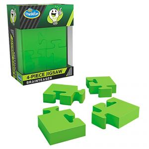Rompecabezas jigsaw 4 piezas Brainteaser