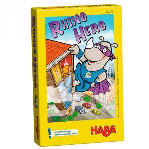 Rhino hero juego habilidad