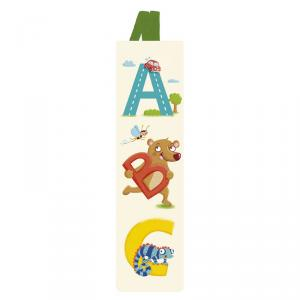 Marcapáginas alfabeto