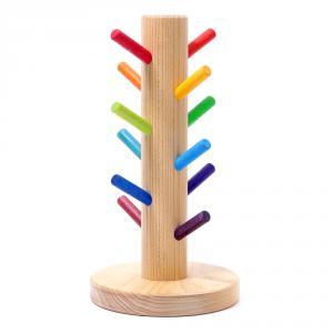 Árbol para anillas Rainbow madera